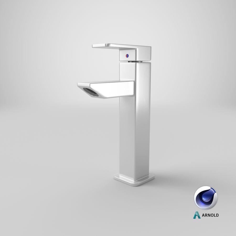 Bathroom Faucet royalty-free 3d model - Preview no. 15