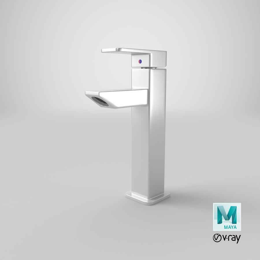 Bathroom Faucet royalty-free 3d model - Preview no. 21