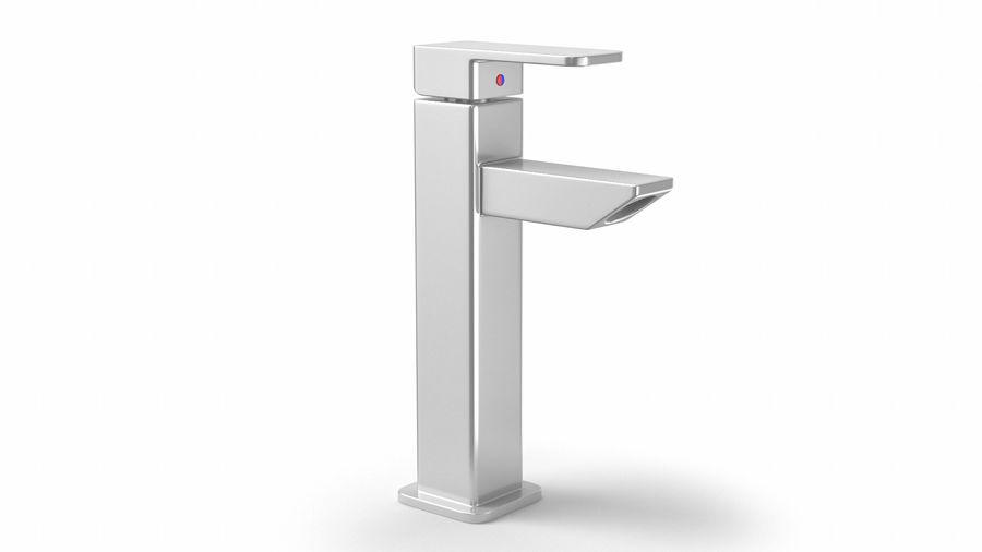 Bathroom Faucet royalty-free 3d model - Preview no. 3