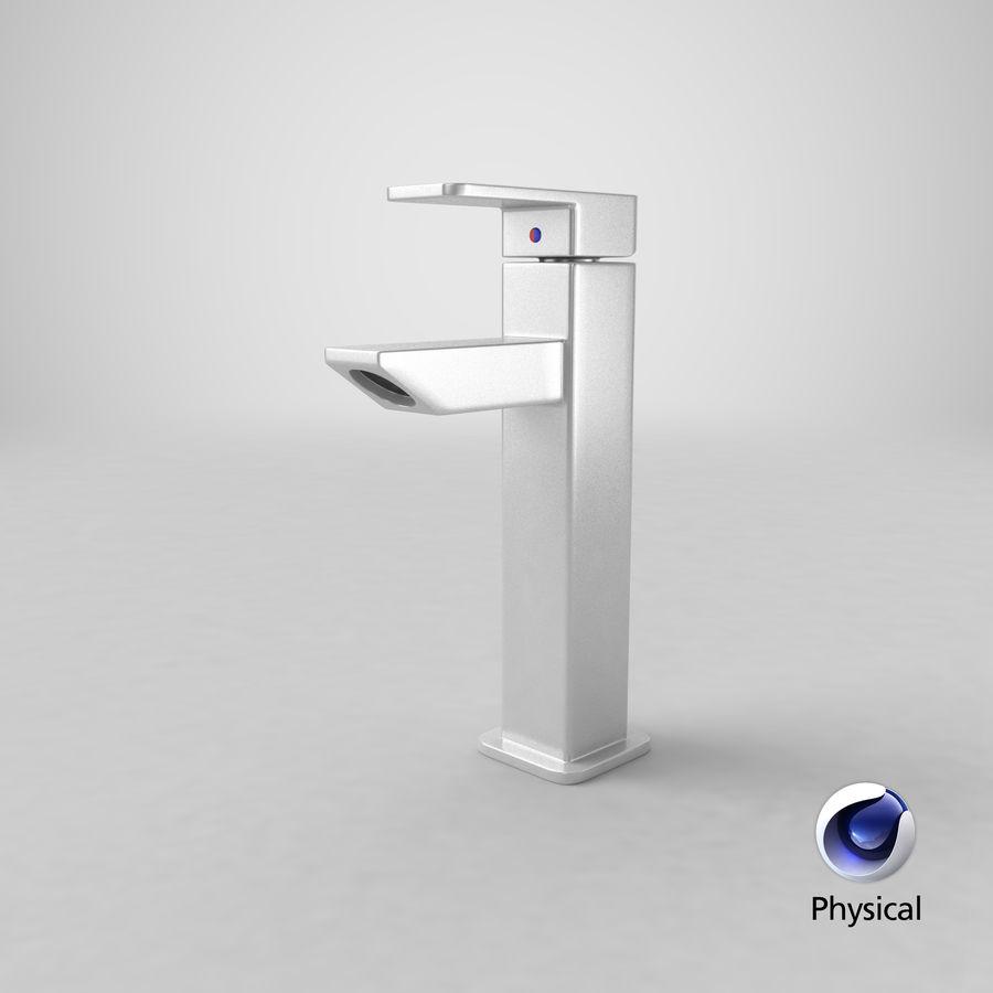 Bathroom Faucet royalty-free 3d model - Preview no. 14