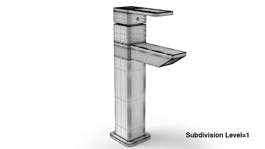 Bathroom Faucet royalty-free 3d model - Preview no. 11
