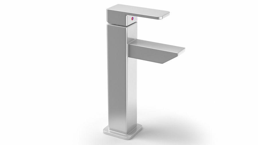 Bathroom Faucet royalty-free 3d model - Preview no. 4