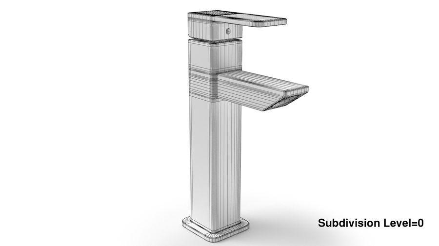 Bathroom Faucet royalty-free 3d model - Preview no. 10