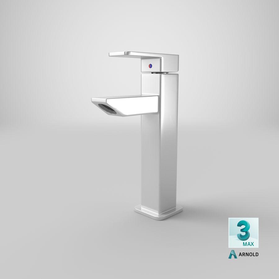 Bathroom Faucet royalty-free 3d model - Preview no. 16