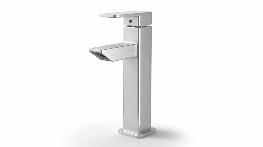 Bathroom Faucet royalty-free 3d model - Preview no. 2