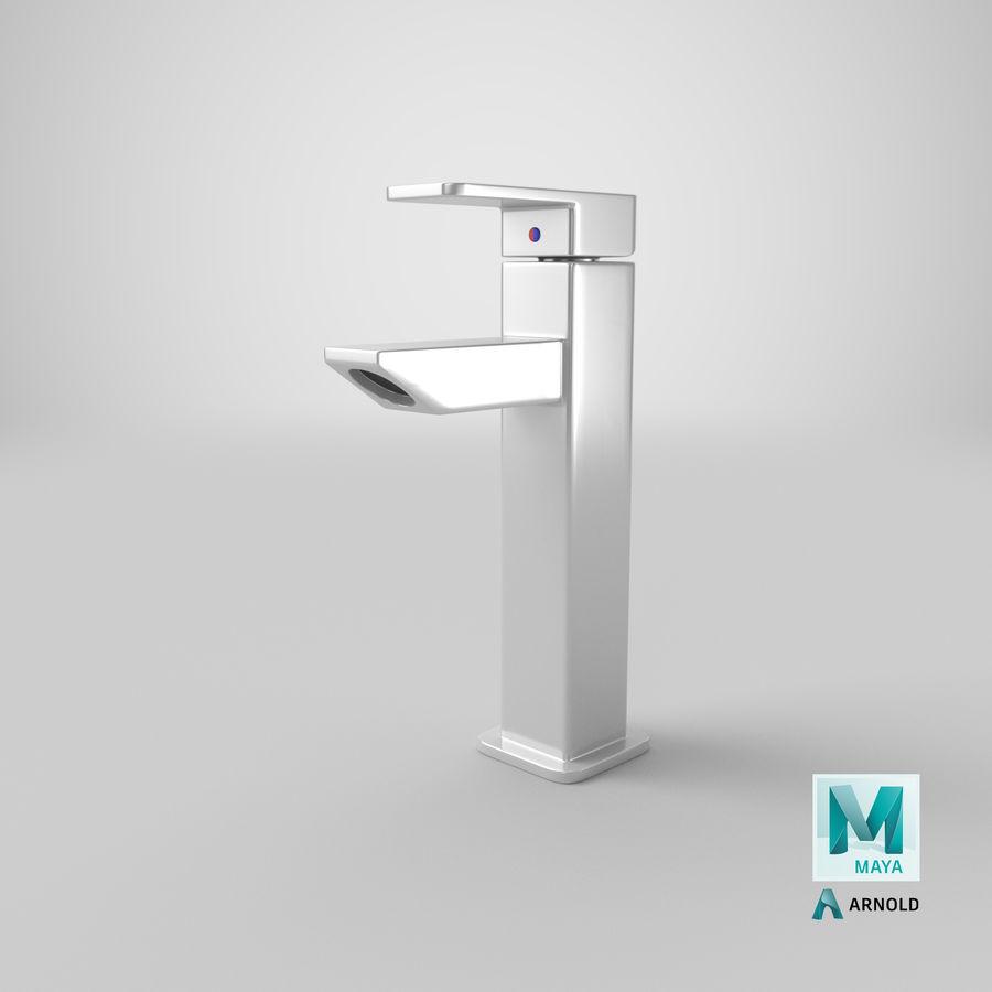 Bathroom Faucet royalty-free 3d model - Preview no. 19