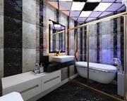 Bathroom Interior Design Elman 3d model