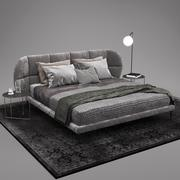 Boconcept Oxford yatak 3d model