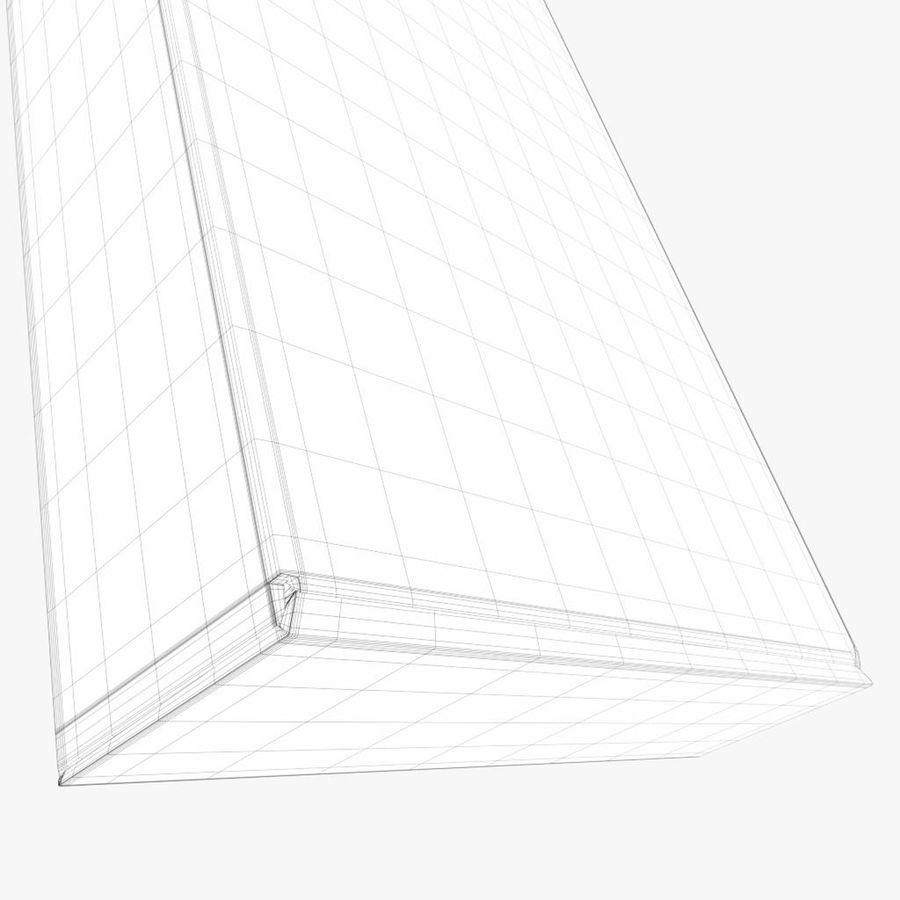 Scatola di cartone chiusa royalty-free 3d model - Preview no. 8