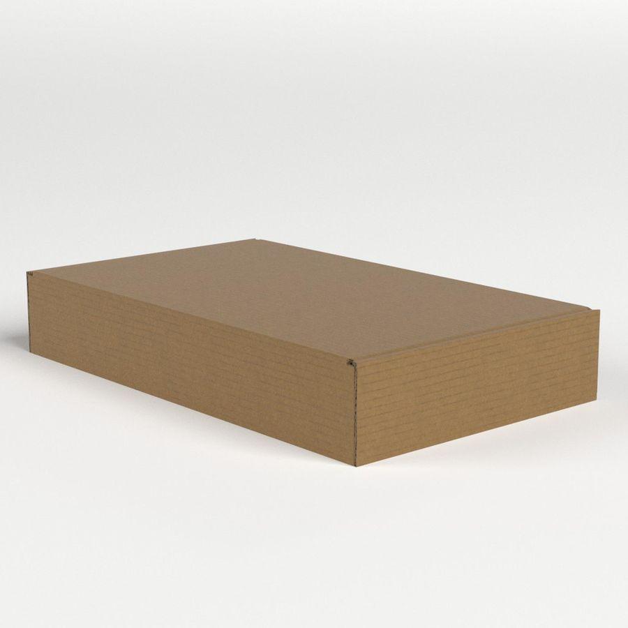 Scatola di cartone chiusa royalty-free 3d model - Preview no. 4