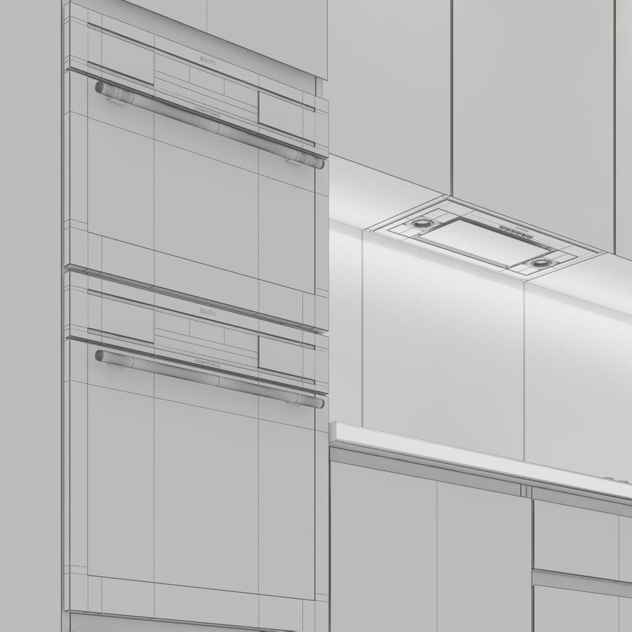 Corner Kitchen royalty-free 3d model - Preview no. 9