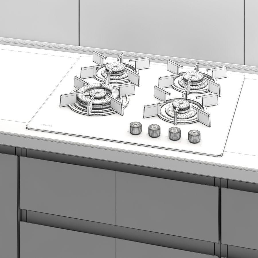 转角厨房 royalty-free 3d model - Preview no. 8