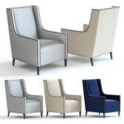 Kanapa i krzesło Co - Christo Fotel 3d model