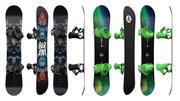 Snowboards 01 3d model