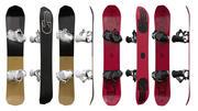 Snowboards 02 3d model