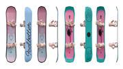 Snowboards 03 3d model