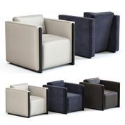Kanapa i krzesło Co - Marcel Fotel 3d model