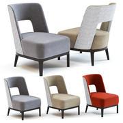 Kanapa i krzesło Co - Donnelly Fotel 3d model