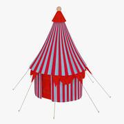Circus tent little 3d model