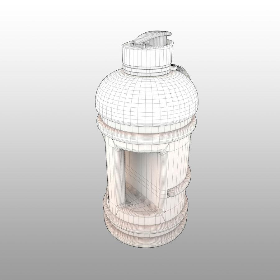 siłownia na butelki royalty-free 3d model - Preview no. 5