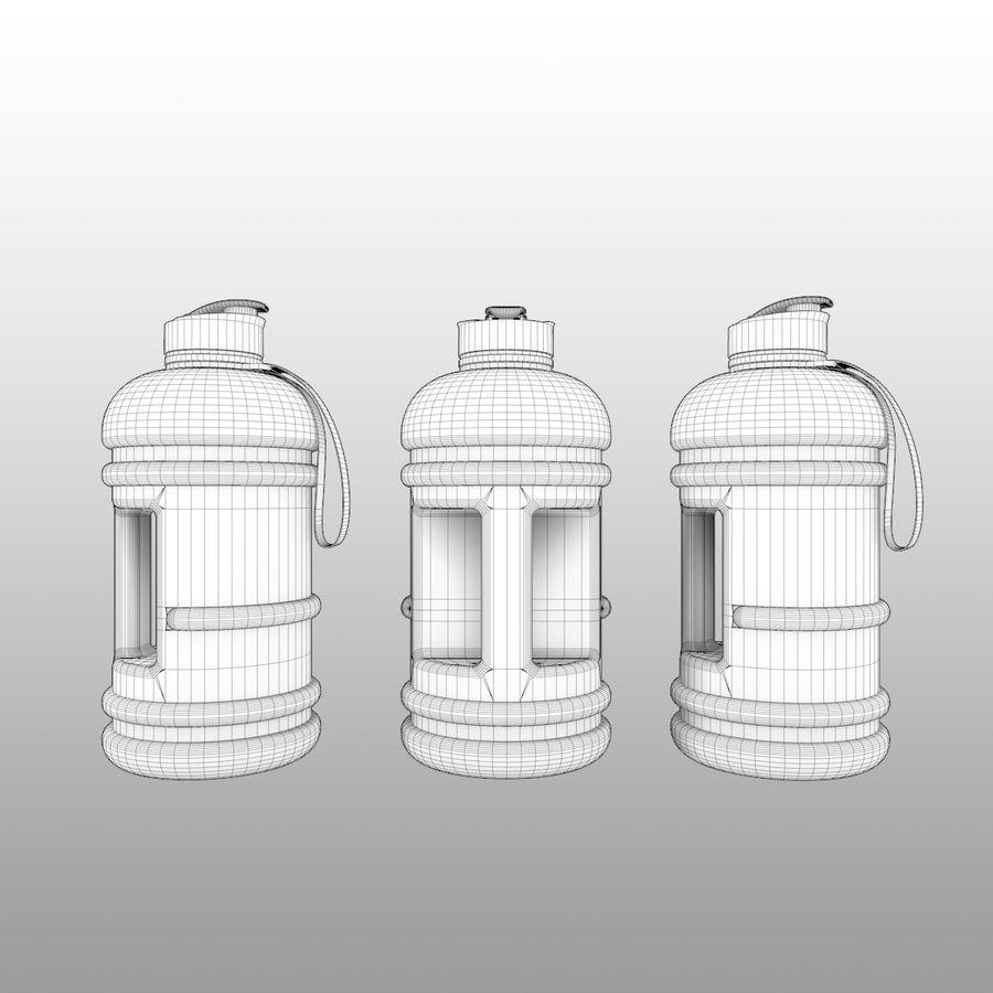 siłownia na butelki royalty-free 3d model - Preview no. 6