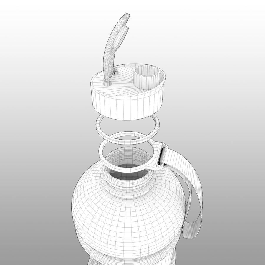 siłownia na butelki royalty-free 3d model - Preview no. 7