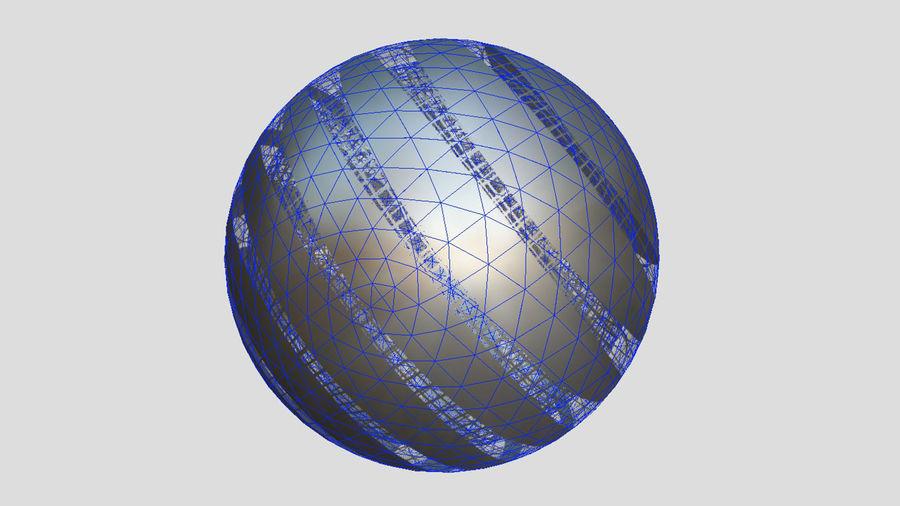 Lass das außerirdische Raumschiff fallen royalty-free 3d model - Preview no. 8