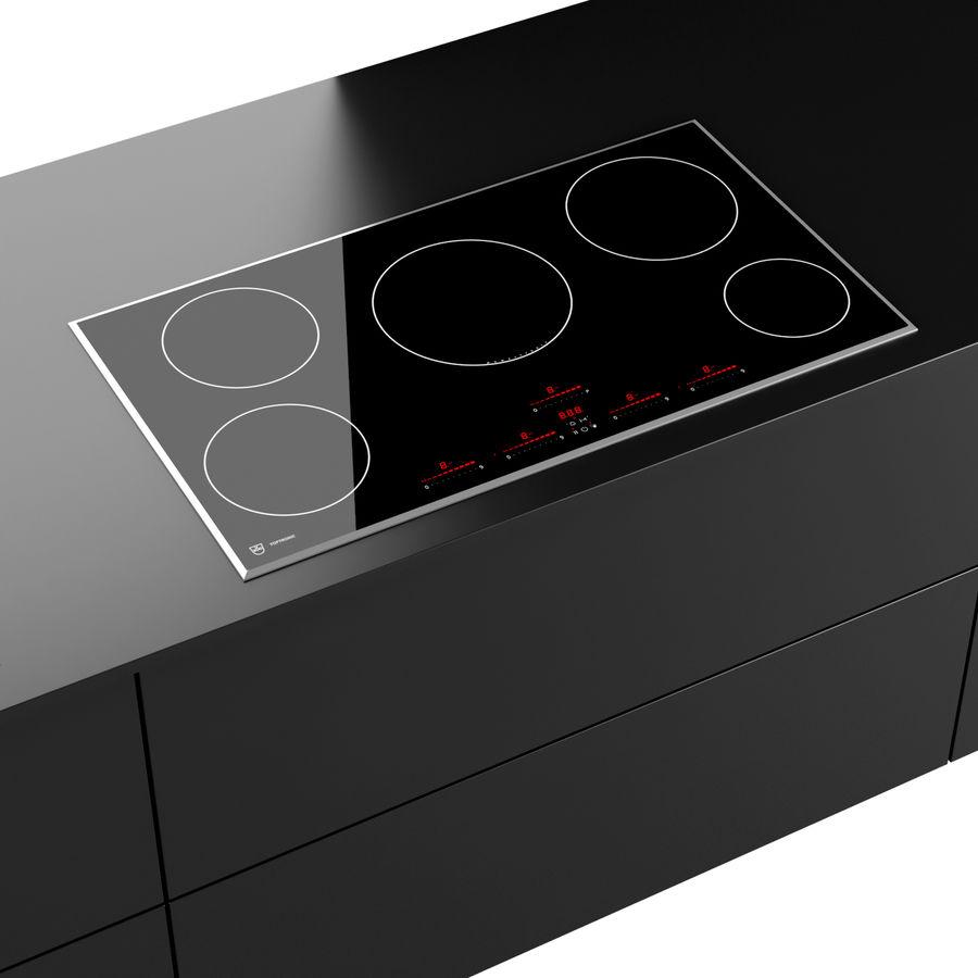 现代厨房 royalty-free 3d model - Preview no. 6
