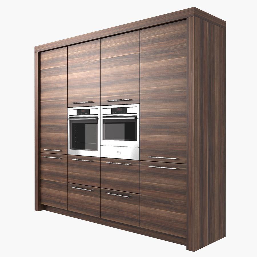 Life Kitchen royalty-free 3d model - Preview no. 8