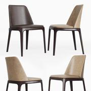 Poliform Grace Yemek Sandalyesi 3d model