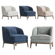 Seychelles Wood Trim Chair wl 3d model