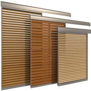 Schuifdeur voor ramen en deuren 3d model