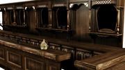 Western Saloon Bar 3d model