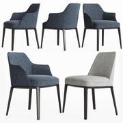 Krzesła Poliform Sophie 3d model