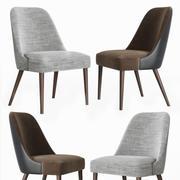 Zuma Pumice Accent Chair 3d model