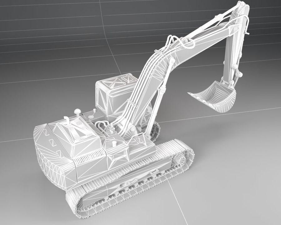 Bagger Bagger royalty-free 3d model - Preview no. 7