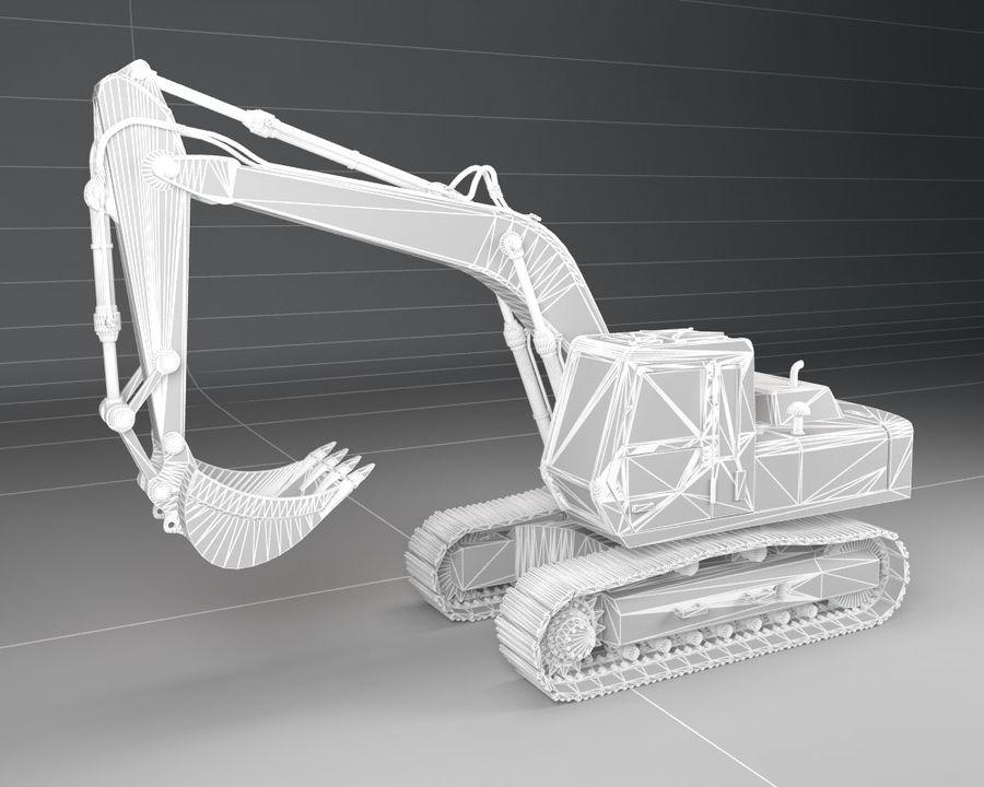 Bagger Bagger royalty-free 3d model - Preview no. 6
