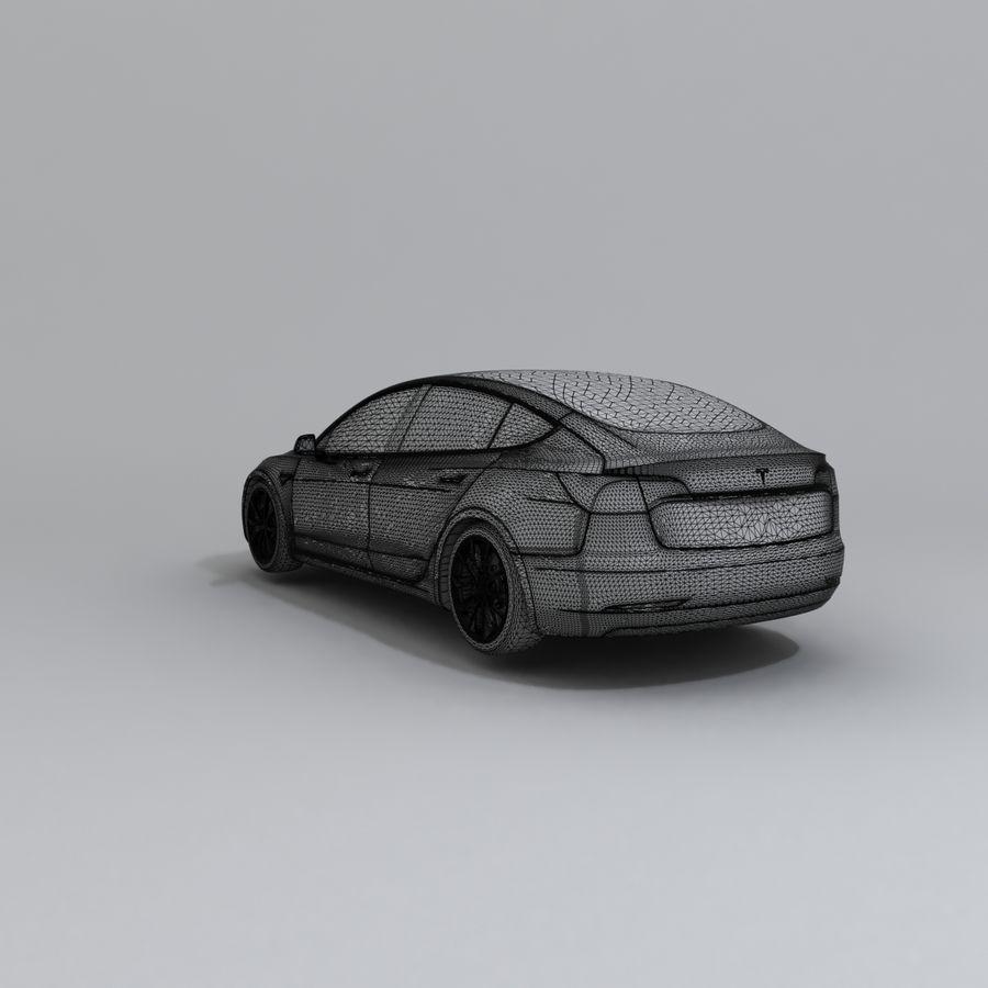 汽车概念 royalty-free 3d model - Preview no. 8