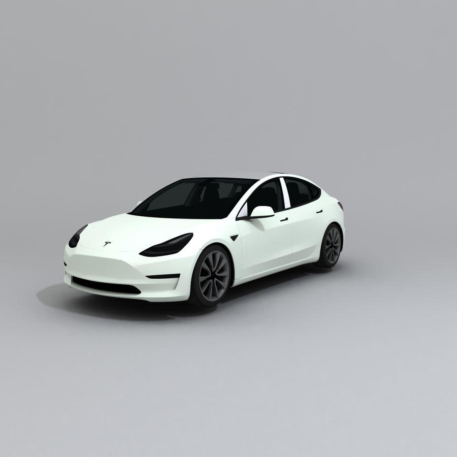 汽车概念 royalty-free 3d model - Preview no. 1