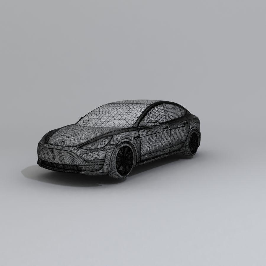 汽车概念 royalty-free 3d model - Preview no. 6