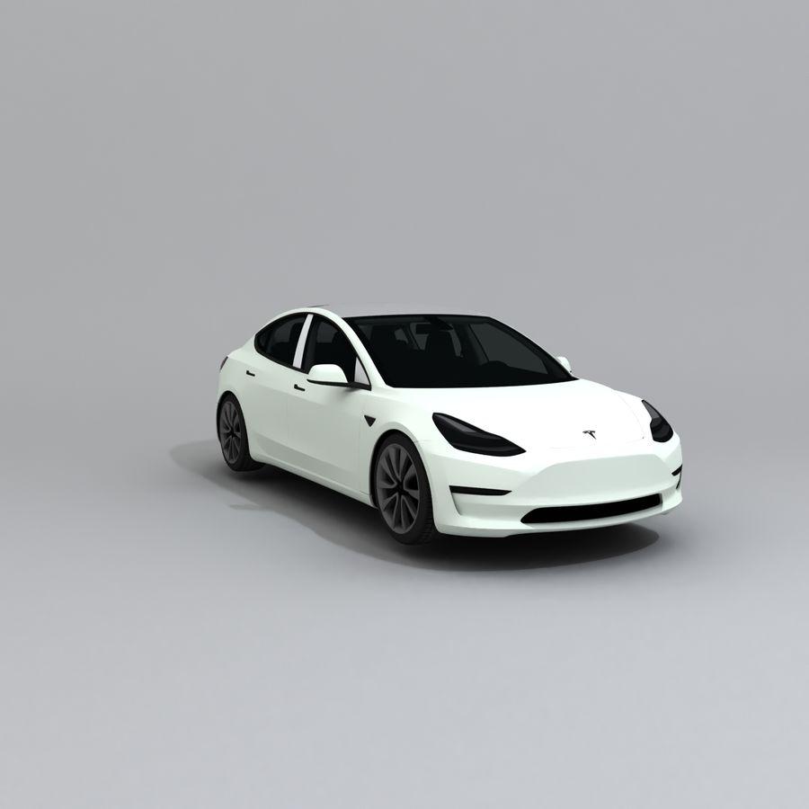汽车概念 royalty-free 3d model - Preview no. 4