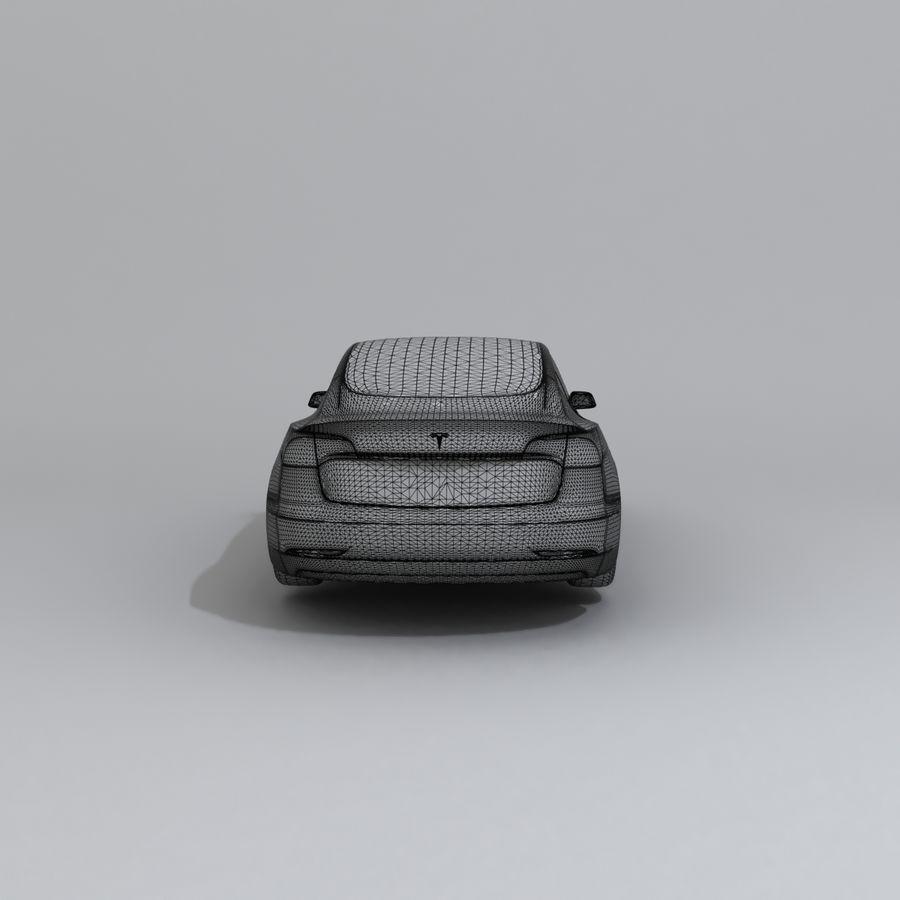 汽车概念 royalty-free 3d model - Preview no. 9