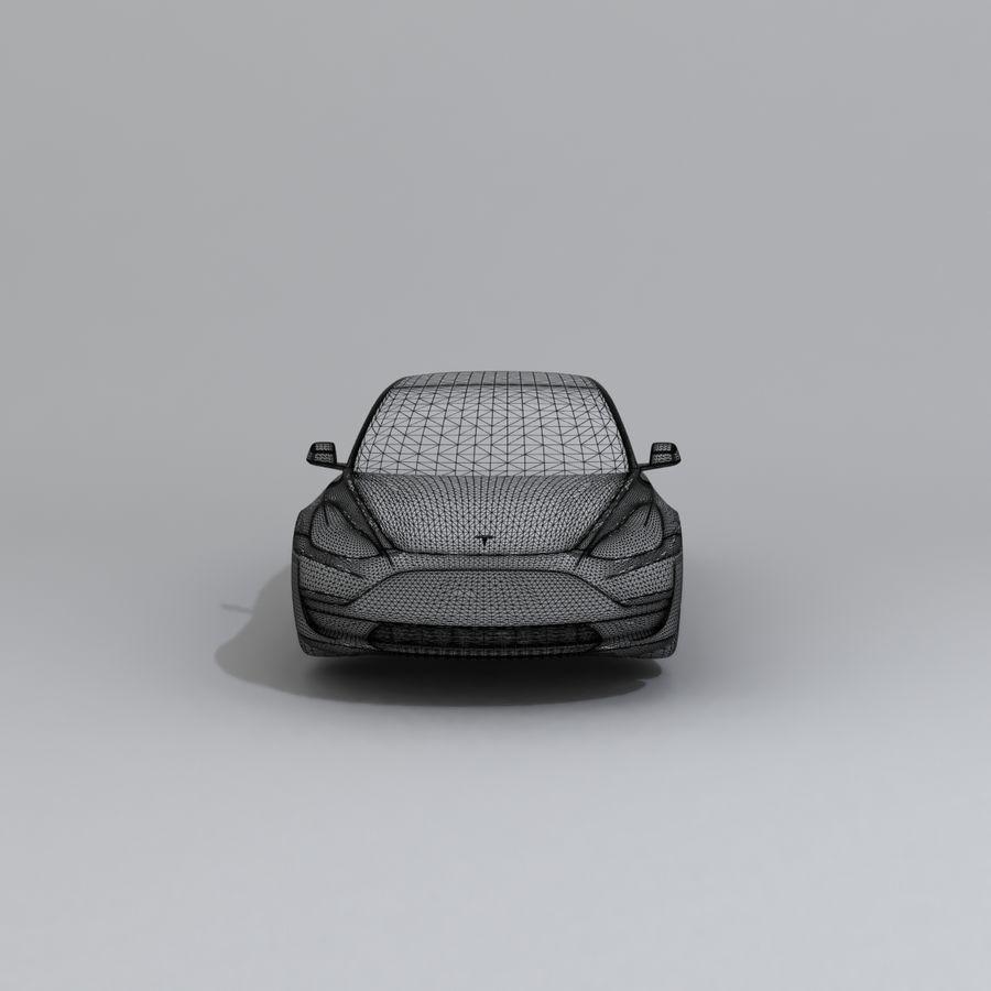 汽车概念 royalty-free 3d model - Preview no. 10
