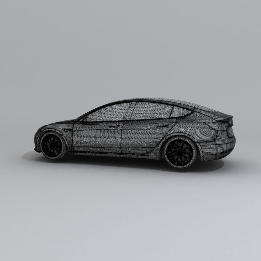 汽车概念 royalty-free 3d model - Preview no. 7