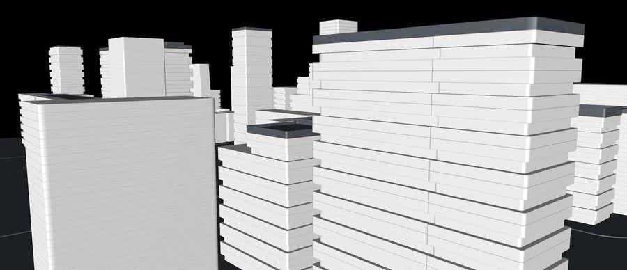 都市の建物 royalty-free 3d model - Preview no. 4