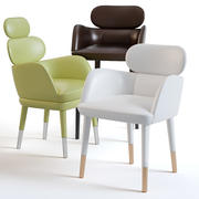 Chair Artistic Frame Finn 3d model