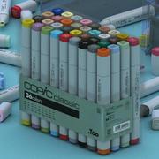 COPIC Klassiker 3d model