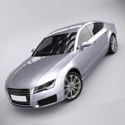 Audi A7 2010 3d model