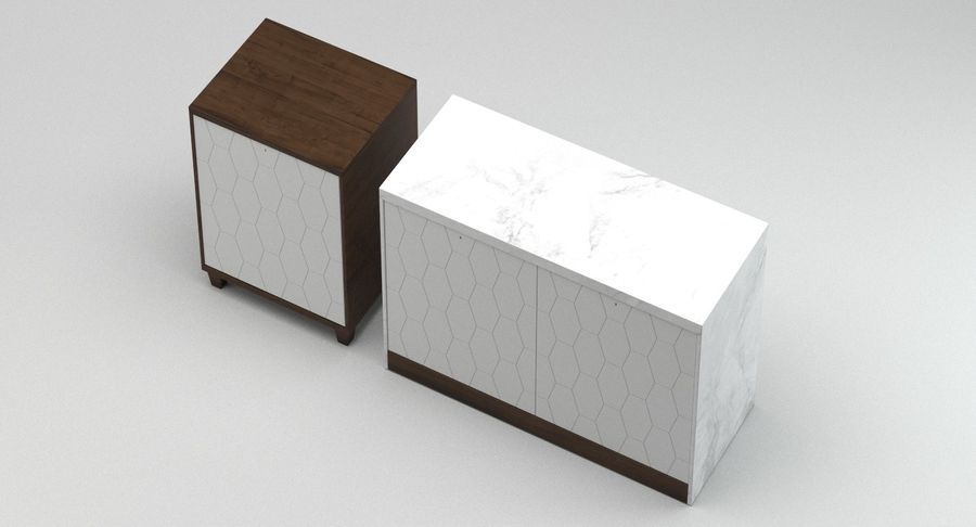 Kast 13 royalty-free 3d model - Preview no. 4
