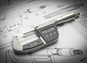 Micromètre numérique 3d model